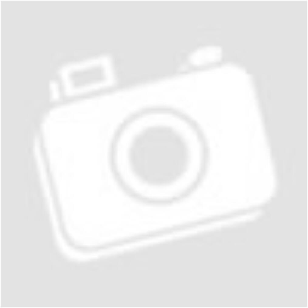 Oldalt hosszított, vékony pamut tunika, nyaklánccal (fekete)